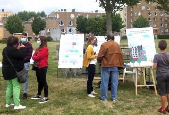 NPNRU – Téteghem Degroote : L'AGUR présente pour échanger avec les habitants sur le projet