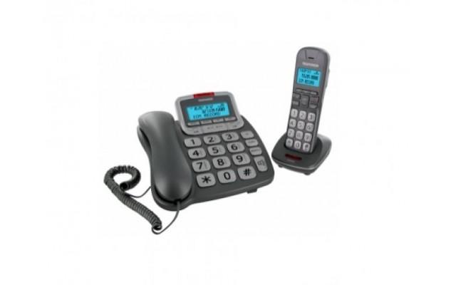 TELEPHONE TELEFUNKEN DUO FIL + REPONDEUR