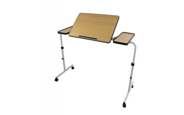 TABLE DEJEUNER ET LECTURE DUO 120-140 CM