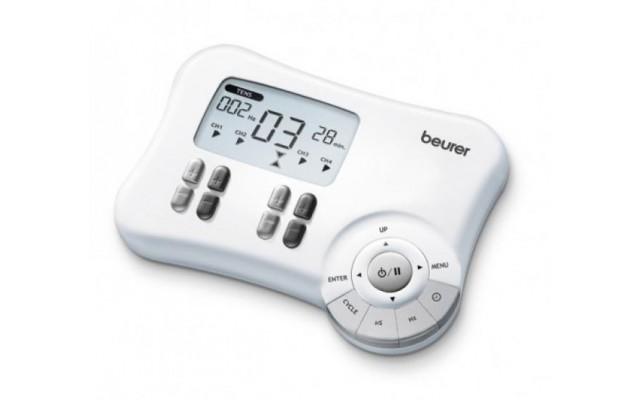BEURER EM80 ELECTROSTIMULATEUR 8 ELEC. DIGITAL TENS/EMS 3 EN 1